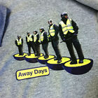 Away Days Subbuteo Style Football Police Casuals 80's T Shirt in 3 colours