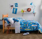 KAS Kids Wave Rider SINGLE or DOUBLE QUILT COVER SET surfboard beach blue thongs