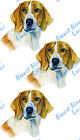 Realistic Beagle Hunting Dog Vinyl Decal Sticker  - Home Car Truck SUV RV Boat