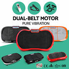 Ultra Slim Vibration Machine Plate Platform Exercise Fitness Body Shaper Massage