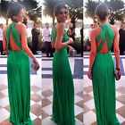 Women's Formal Prom Long Cocktail Party Ball Gown Evenings Bridesmaid Dress New