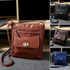 Women Fashion Shoulder Handbag Bag PU Leather Satchel messenger Cross Body BagsT