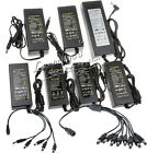 12V 2A 3A 5A 8A 10A LED CCTV Security Camera DVR DC Power Supply 1 to N Splitter