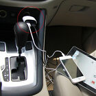 12-24V Dual USB DC Car Charger voltage/current LCD Display fr iPhone SAMSUNG LG