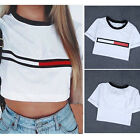 1pc Women Loose Pullover T Shirt Short Sleeve Cotton Tops Shirt Summer Blouse