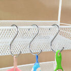 """50 100PCS  Metal """"S"""" Shape Type Hooks Hangers For Kitchen Wall Clasp Cup Hanging"""