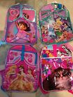 Disney Backpack with Bonus Folder Many Styles  Available MSRP $30 New