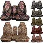 2004-2012 Chevy Colorado and GMC Canyon 60-40 Camouflage Seat Covers