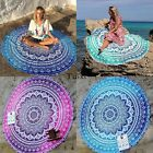 Round Mandala Hippie Indian Tapestry Boho Beach Throw Towel Yoga Mat TXCL