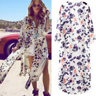 New Women Kimono Cardigan Chiffon Long Loose Blouse Summer Beach Cover Up Wraps
