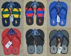 NWT Polo Ralph Lauren Men Rubber PONY Logo Flip Flops Sandals