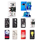 New Colored Drawing Leather Magnetic Stand Case Cover for Samsung Galaxy S7