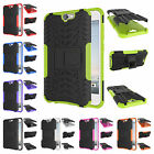 For HTC One A9 Heavy Duty Kickstand Plastic Rubber Rugged Dual Armor Case Cover
