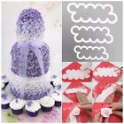 Hot! 3D Easiest Rose Ever Fondant Icing Cutting Tool For Cake Decoration