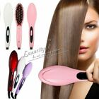 US Beauty Electric Comb Hair Straightener Irons Brush for Straight Hair Styling