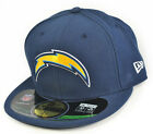 New Era Cap NFL Football San Diego Chargers Navy Blau On Field 59Fifty