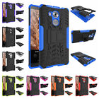 For Huawei Ascend Mate 8 Heavy Duty Stand Plastic Rubber Rugged Armor Case Cover