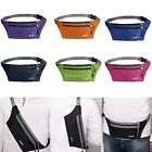 Hot Waterproof Running Belt Bum Waist Pouch Fanny Pack Camping Hiking Zip Bag AU