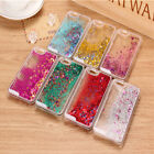 Liquid Star Glitter Fashion Transparent Clear Case Cover For iPhone 6 6s 5