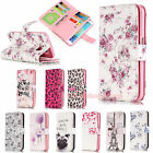 For Samsung Galaxy 9 Card Slots Pattern PU Leather Wallet Flip Stand Case Cover