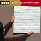 40 Lot 3D effect Flexible Stone Brick Wall Textured Viny Wallpaper Self-adhesive