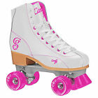 New Candi Girl Sabina White and Pink Roller Skates Girls Ladies Size 3-10