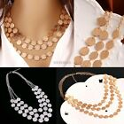 Fashion Charm Jewelry Chain Pendant Choker Chunky Statement Bib Necklace AU