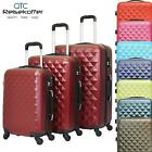 Reisekoffer QTC DIAMOND Hartschale Case Trolley M L XL SET Reise Koffer Trolly
