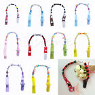 BABY PACIFIER SOOTHER DUMMY CLIP HOLDER STRING STRAP CLIP CHAIN HOLDER