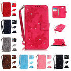 For Samsung Galaxy Grand Prime G530H Butterfly Diamond Wallet Leather Case Cover