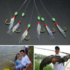 Fishing Hooks Rigs Wire Leader 6 Swivel Carp String Anti-winding Stainless Steel