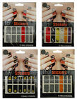 XTREME COLOR 12pc Nail Stickers HALLOWEEN Cat+Witch+Bat+Pumpkin NEW *YOU CHOOSE*
