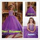 Flower Girl Dresses for Wedding Communion Prom BallGown Pageant Party Birthday