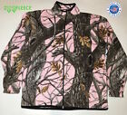 Fleece Winter Jacket Camouflage Pink Tree Snow Women Coat Sweater Hunt Comfort