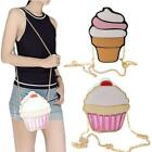 New Women's Mini Shoulderbag Special Ice Cream Cup Cake Shape Crossbody Bag H