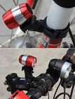 Bike Bicycle Cycling Head Headbar Wheel Safe Warning Lamp Front LED Flash Light