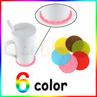 Fashion Silicone Heat Insulation Coffee Tea leaves Cup Mug Mat Pad Coaster New