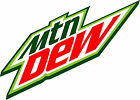 Mountain Dew Vinyl Decal / Sticker ** 5 Sizes **