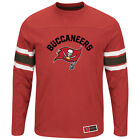 Men's Tampa Bay Buccaneers Majestic Power Hit Long Sleeve T-Shirt