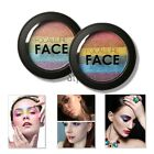2 Colors Eye Shadow Makeup Cosmetic Shimmer Matte Eyeshadow Palette Set TXST