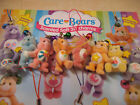 12 x Cute Scented CARE BEAR Charms/Danglers Perfect Party Bag Filler