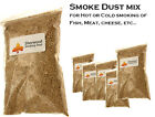Smoke Dust / Chips for Hot or Cold Smoking of Salmon, Fish, Meat, Cheese, etc..