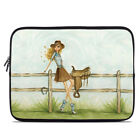 Zipper Sleeve Bag Cover - Cowgirl Glam - Fits Most Laptops + MacBooks