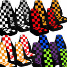 2007 to 2014 Mini Cooper Checkered Seat Covers Airbag Friendly Choose Your Color