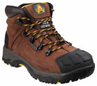 Amblers FS39 Waterproof Safety Mens Brown Steel Toe Cap Boots Shoes UK6-15