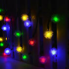 20 LED Ball Solar Powered Outdoor String Lights for Christmas Garden Decoration
