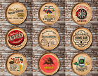 Personalized Oak Wine Barrel Top Sign Home Bar Man Cave Restaurant Wall Decor