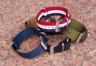 New PREMIUM SILVER ZULU G10 4 RING NYLON military diver's watch strap band