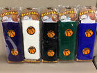Set of 2 Basketball Sports Wristband, Terry Cloth 4 Dog Cat Rescue Charity