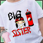 KARATE BIG SISTER SHIRT PERSONALIZED WITH NAME TAEKWONDO MARTIAL ARTS